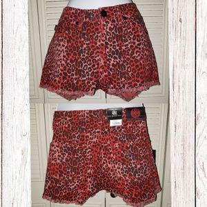 Cheetah Print Shorts Rock & Republic